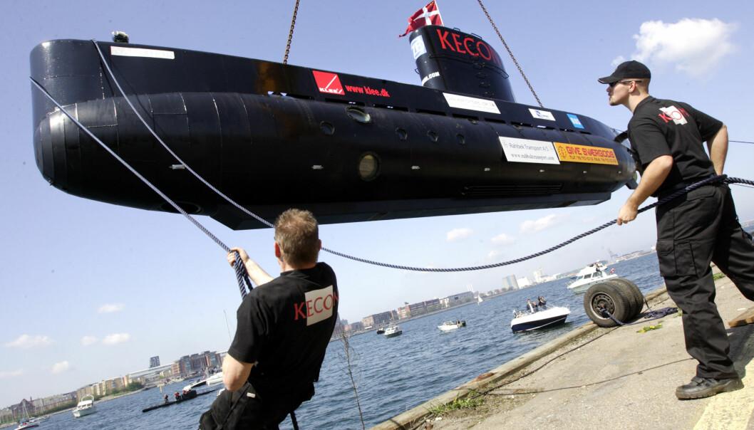 Savnet «hjemmelaget» ubåt ble funnet seilende utenfor København. Nå har den sunket