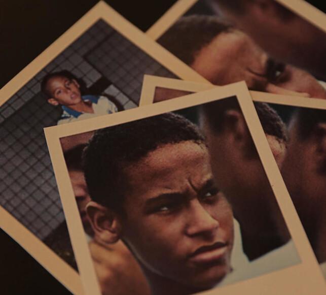 HAR ALLTID ELSKET FOTBALL: En ung Neymar. Foto: FourFourTwo