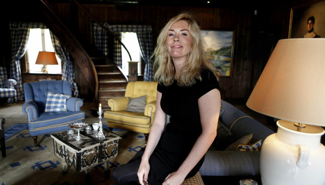 <strong>HAR FERIE:</strong> Etter flere intense år med «Skam»-skriving og -innspilling har Julie Andem ferie fram til 1. oktober. Hun vet ikke hva hennes neste prosjekt er. Foto: Anders Grønneberg / Dagbladet