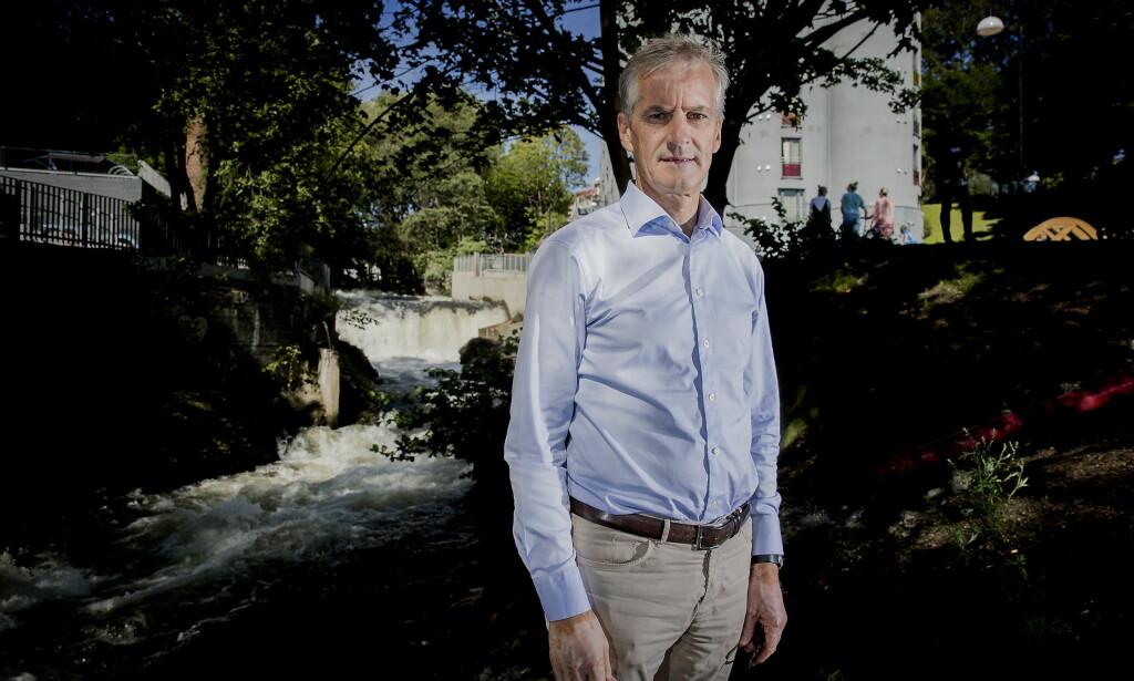 KJØPES UT: Jonas Gahr Støre går nå ut med detaljer om salget av boligandelene sine. Her er han ved Akerselva i Oslo. Foto: Bjørn Langsem / Dagbladet