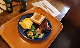 BARBERCUE: Brisket, ribbe eller pulled pork er blant barberque-rettene Texas er kjent for. Foto: Vegard Kristiansen Kvaale / Dagbladet