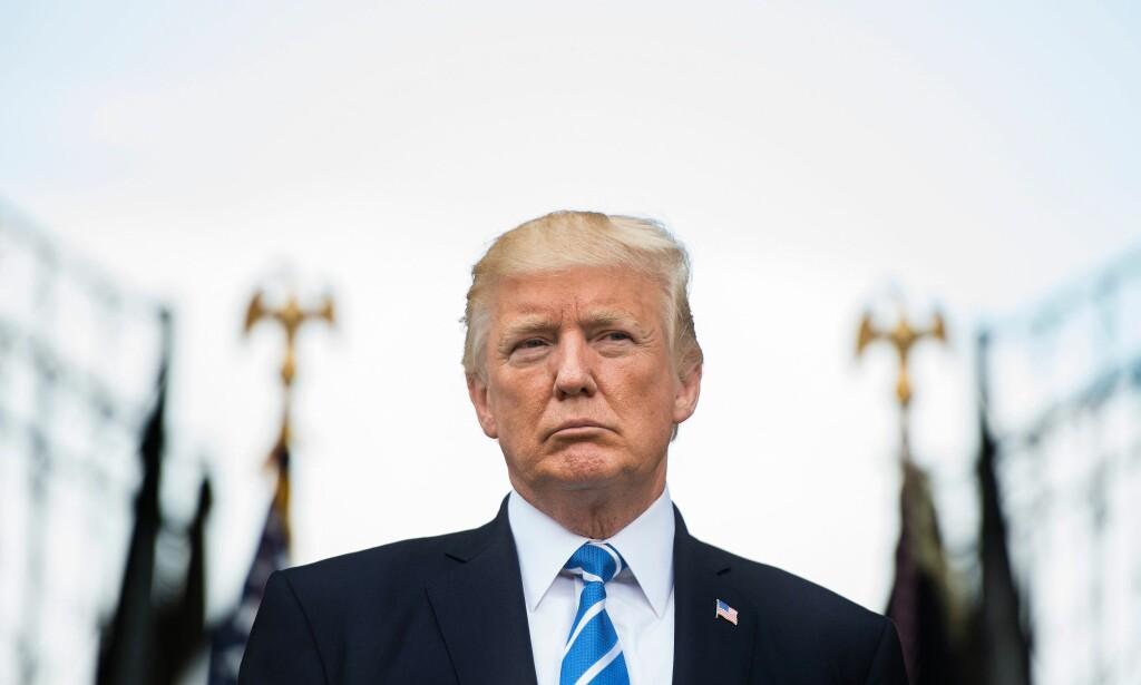 Tar avstand: Både Marco Rubio og Paul Ryan fra det republikanske partiet har allerede gått ut og tatt avstand fra Trumps uttalelser tirsdag kveld. - Du hadde noen veldig dårlige folk i den gruppa. Men du hadde også veldig fine folk i begge grupper, sa Trump om nynazistiske demonstranter. Foto: Jim Watson / AFP / NTB Scanpix