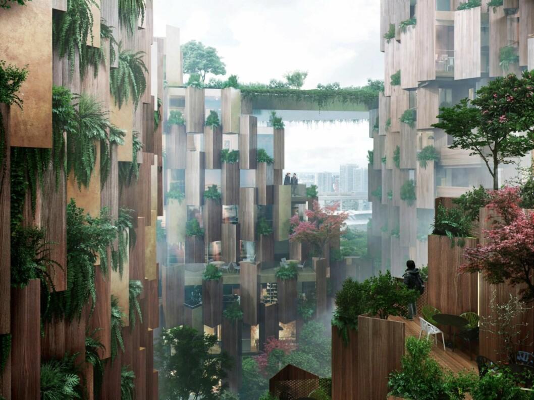 BLOGG: Wow! Sjekk fremtidens hotell i Paris!