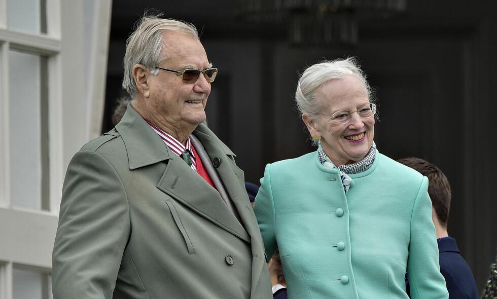 INNLAGT PÅ SYKEHUS: Danske prins Henrik er lagt inn på Rigshospitalet i København etter en reise til Egypt. Foto: NTB Scanpix