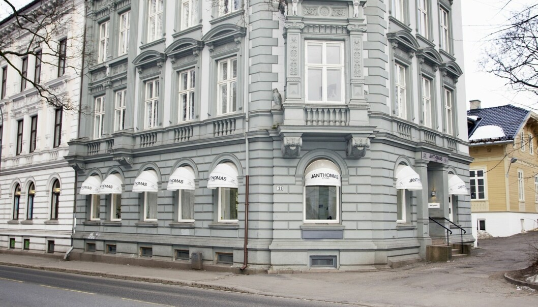 <strong>EGET STUDIO:</strong> Salongen i Parkveien åpnet dørene i 2008. Nå er det snart klar for Jan Thomas Studio nummer to, på Frogner i Oslo. Foto: Se og Hør