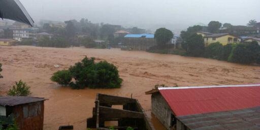 image: Flere hundre døde etter jordskred i Sierra Leone