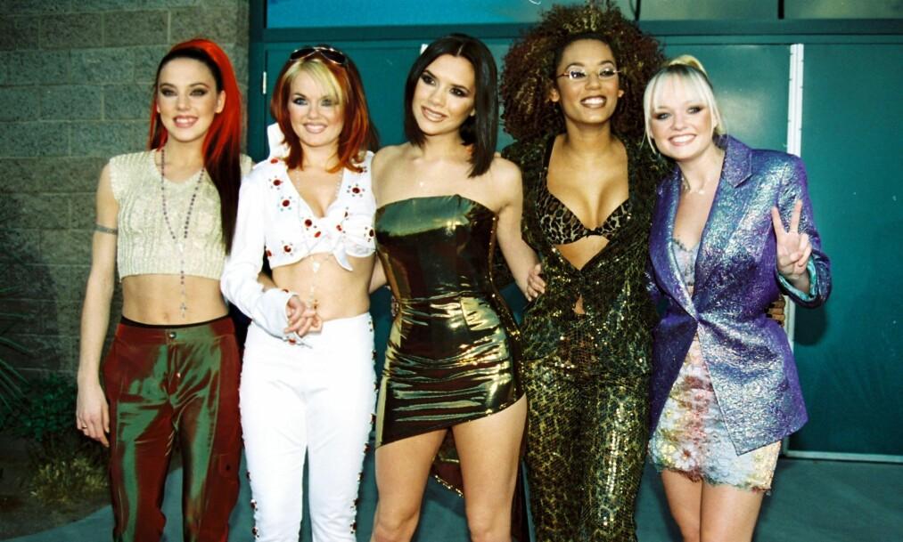 <strong>VERDENSSTJERNER:</strong> Spice Girls ble raskt en verdenskjent popgruppe. Mange fans fikk hjertesorg da de valgte å gå hver til sitt. Nå står imidlertid nye prosjekter på trappene. Foto: NTB Scanpix