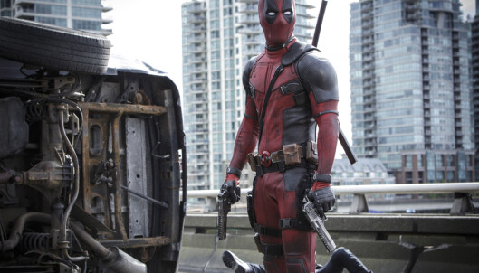 KJENT STORFILM: «Deadpool» var en av fjorårets mestinnbringende filmer, og tar for seg antihelten med samme navn. Nå filmer produksjonen en oppfølger. Foto: Joe Lederer/Twentieth Century Fox Film Corp, NTB scanpix