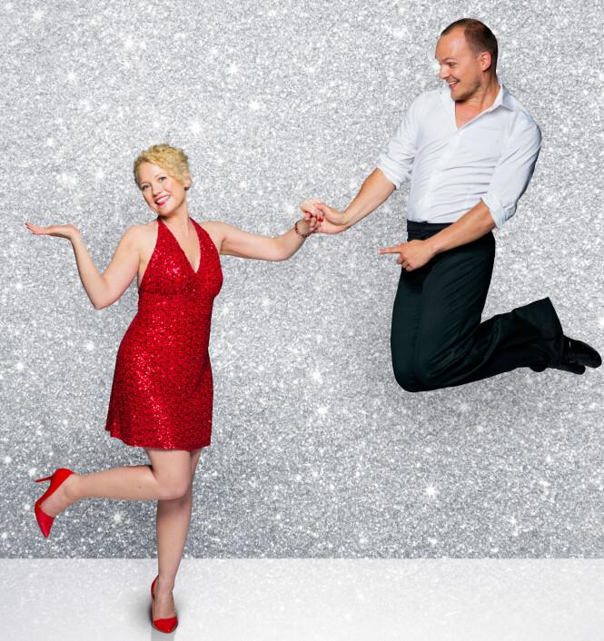 <strong>HEDDA KISE:</strong> Programleder Hedda Kise skal danse med Ivo Havranek. I fjor danset han med Eli Kari Gjengedal. Foto: TV 2