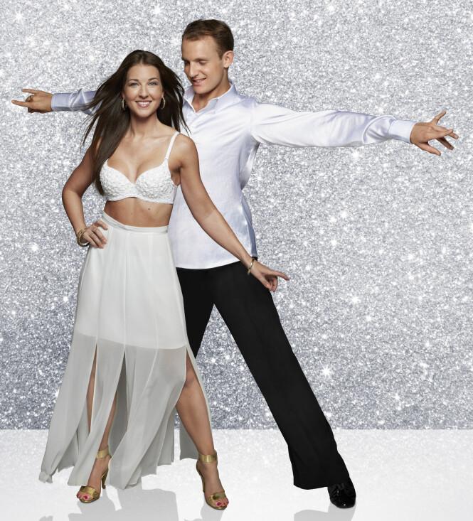 <strong>BAKE-IDA:</strong> «Hele Norges Bake»- Ida skal danse med Benjamin Jayakoddy som deltar i «Skal vi danse» for tredje gang. Foto: TV 2