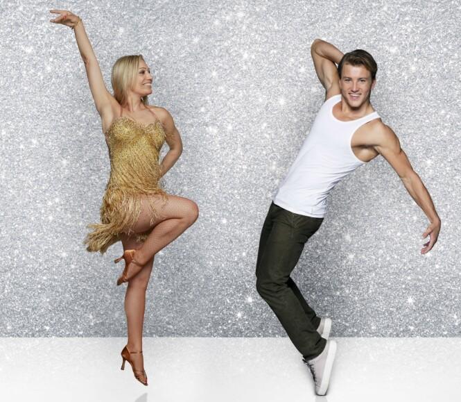 <strong>GRUNDE MYHRER OG EWA TRELA:</strong> Tidligere «Paradise Hotel»-deltaker Grunde Myhrer (21) og Ewa Trela. Trela var også med i forrige sesong hvor hun danset med Ishockey-stjerna Glenn Jensen.