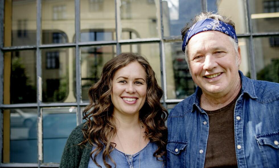 Musikk-par: Ingunn Ringvold og Mark Olson på en snarvisitt i Oslo. Det norsk-amerikanske paret bor i Joshua Tree i USA. Foto: Anita Arntzen