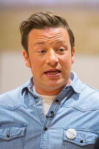 SINT: Jamie Oliver synes dyrevernaktivister går for lang. Foto: Dominic Lipinski/NTB SCANPIX