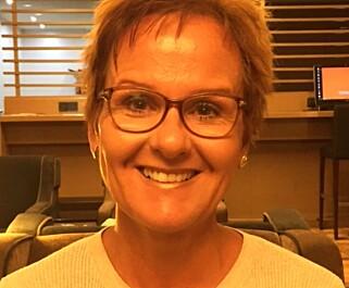 TAR BLADET FRA MUNNEN: Catharina Selbekk, Vebjørn Selbekks kone. Foto: Privat