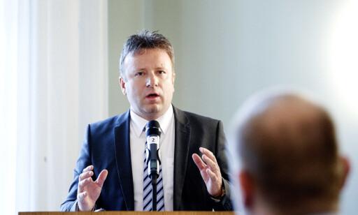REDAKTØR: Vebjørn Selbekk fikk i 2015 Fritt Ord-prisen på grunn av sitt forsvar for ytringsfriheten gjennom ti år med karikaturstrid. Foto: Gorm Kallestad / NTB scanpix