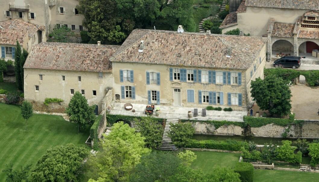 STRIDSTEMA: Angelina vil selge eiendomen Miraval i Frankrike, mens Brad Pitt gjerne vil beholde den. Foto: NTB Scanpix