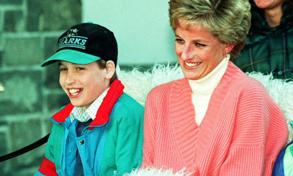 MOR OG SØNN: Prins William avbildet sammen med prinsesse Diana i 1994. Foto: NTB scanpix