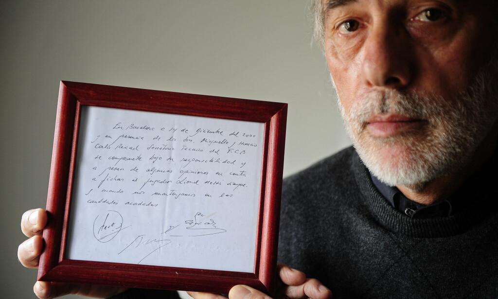 AGENT: Horacio Gaggioli. Foto: AP Photo/Manu Fernandez/NTB Scanpix