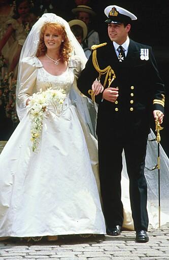 KOM ALLTID TIL KORT: Sarah fkk også en prins, men hun klarte ikke å bli den samme eventyrprinsessen som Diana var.