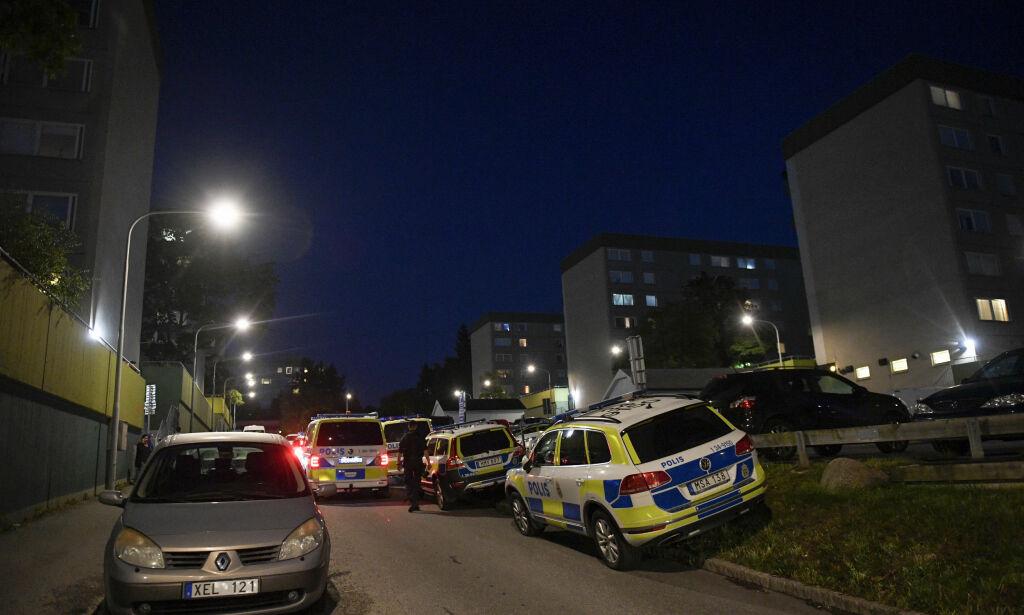 image: Flere skyteepisoder i Sverige fredag kveld. - Drapet skal være hevn etter den første skytingen