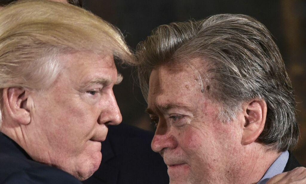 image: Steve Bannon sjokkerer: Kaller Trump juniors russer-møte «forrædersk»