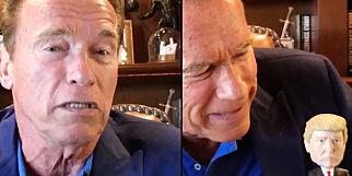 image: Schwarzeneggers klare lekse til Trump er sett 40 millioner ganger: - Du har et moralsk ansvar