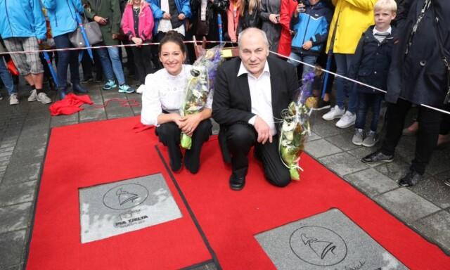 1c05ffe4 TAKKNEMLIGE: Både Pia Tjelta og Bjørn Sundquist uttrykte sin takknemlighet  overfor Seoghør.no.
