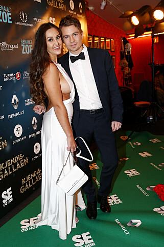 AVBRØT BRYLLUPSPLANENE: Anna og Jan Rasmussen avslørte lørdag at de har avlyst bryllupsplanene. Foto: NTB Scanpix