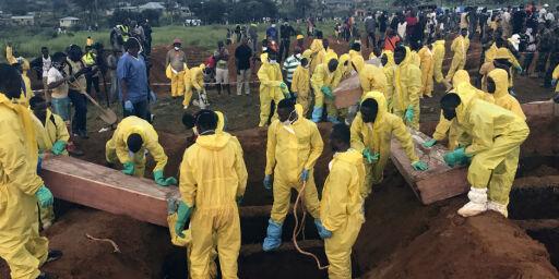 image: 500 bekreftet døde etter jordskred i Sierra Leone