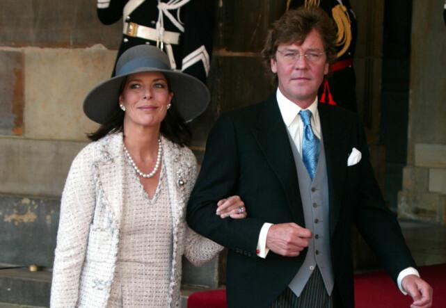 GIFT: Prinsesse Caroline og prins Ernst August er gift, men har angivelig ikke sett hverandre siden 2009. Foto: NTB Scanpix