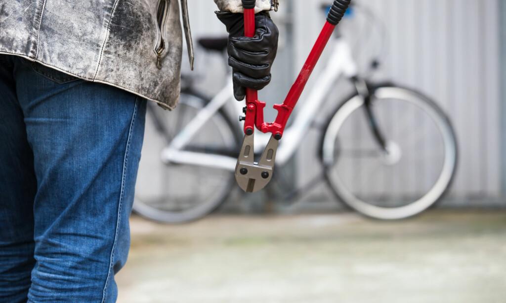 MEST I STORBY: Sykkeltyveriene slår helst til i sentrumsnære bydeler. Ofte går de etter dyre og spesielle sykler. Foto: Rainer Fuhrmann/Shutterstock/NTB scanpix