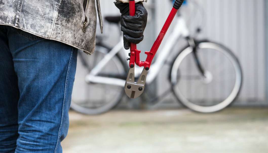 Disse stedene i Norge er mest utsatt for sykkeltyveri