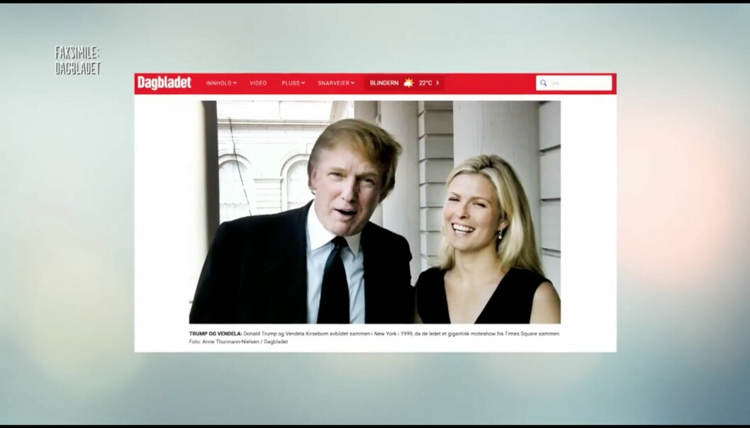 Dagbladet-recap som inneholder screenshot av en tv-serie som inneholder faksimile av en Dagbladet-artikkel. Dette er «Inception»-nivå. Så. Mange. Lag. Foto: TV2