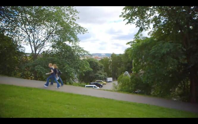 Stensparken, også kjent som «Hverken Frognerparken eller St. Hanshaugsparken»-parken. Foto: TV2
