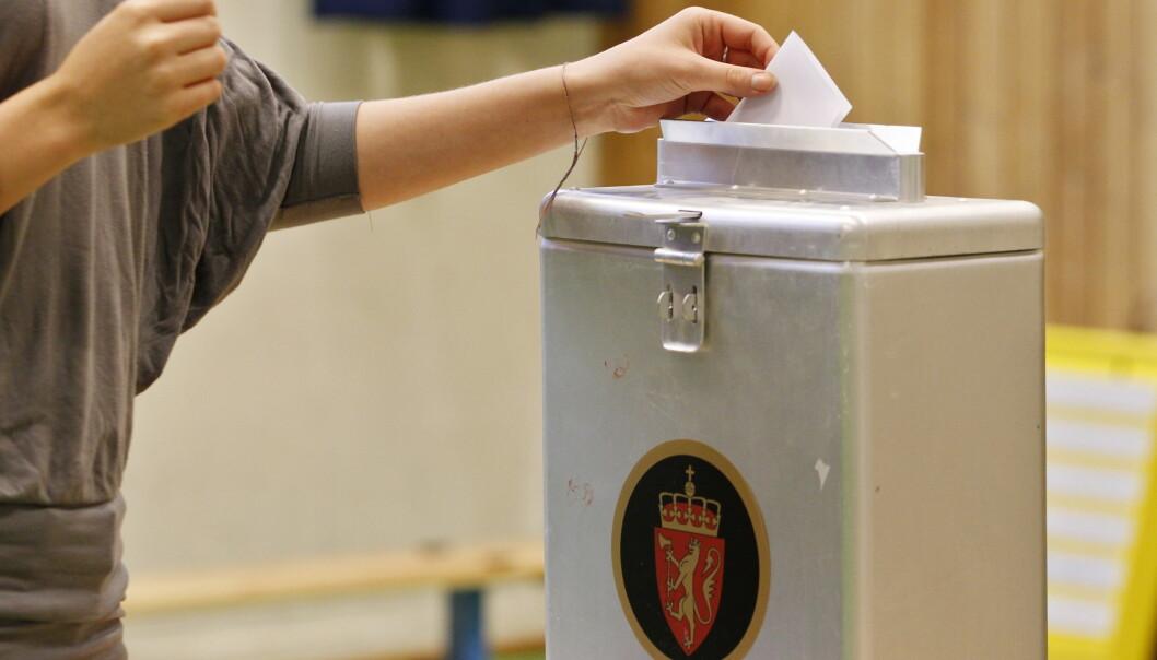 <strong>Valgkamp:</strong> For Thorvald Stoltenberg er det å delta i valgkamp noe av det viktigste og fineste i politikken. Foto: Håkon Mosvold Larsen / NTB Scanpix