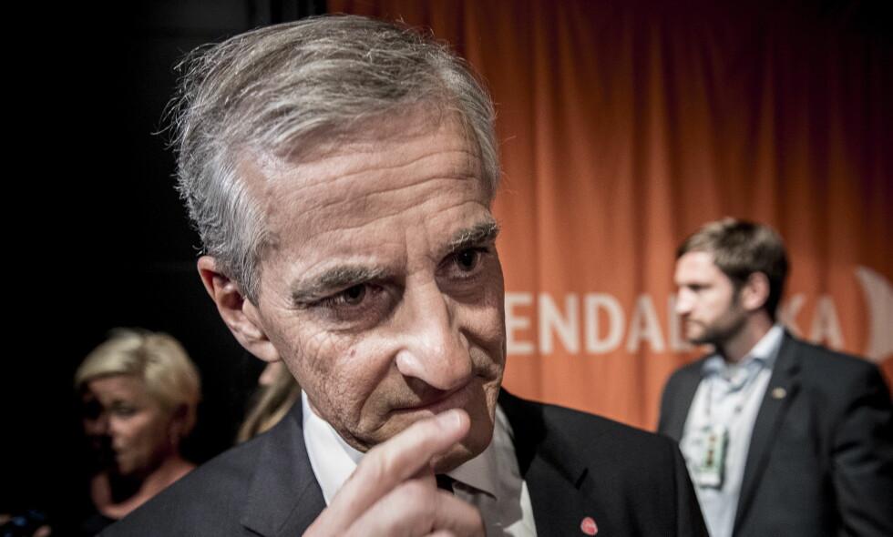 NEDTUREN FORTSETTER: Jonas Gahr Støre og Ap går ned også på Dagbladets måling. Foto: Lars Eivind Bones / Dagbladet.