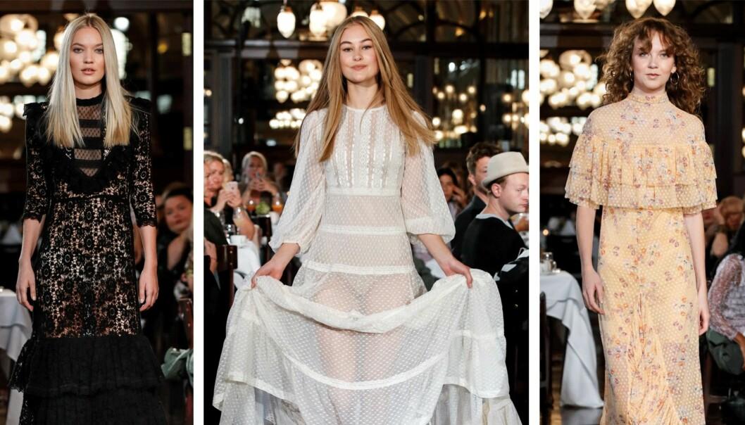 BYTIMO: Det norske merket presenterte nok en kolleksjon full av nydelige kjoler.
