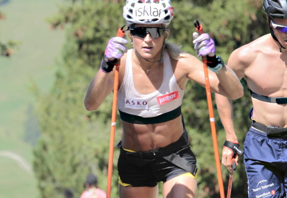 STORE TAP: Therese Johaug fikk vite dopingdommen i Seiser Alm. Foto: Tormod Brenna