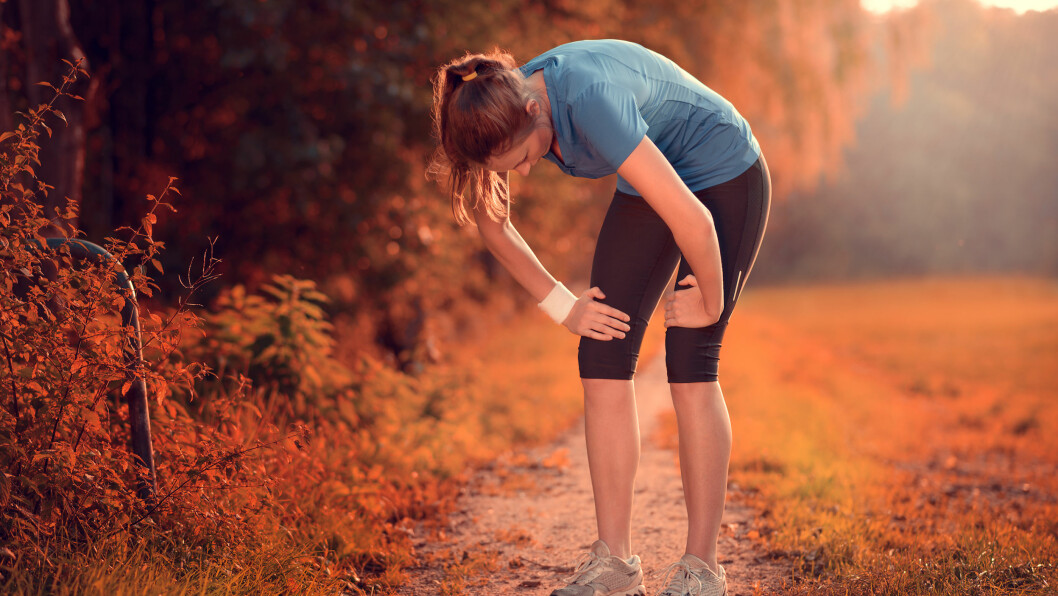 KVALM ETTER TRENING: Kjedelig og demotiverende, men rett og slett et tegn på at du har pushet deg hardt, noe som vil bli bedre etter hvert, ifølge eksperten.  Foto: Lars Zahner - Fotolia