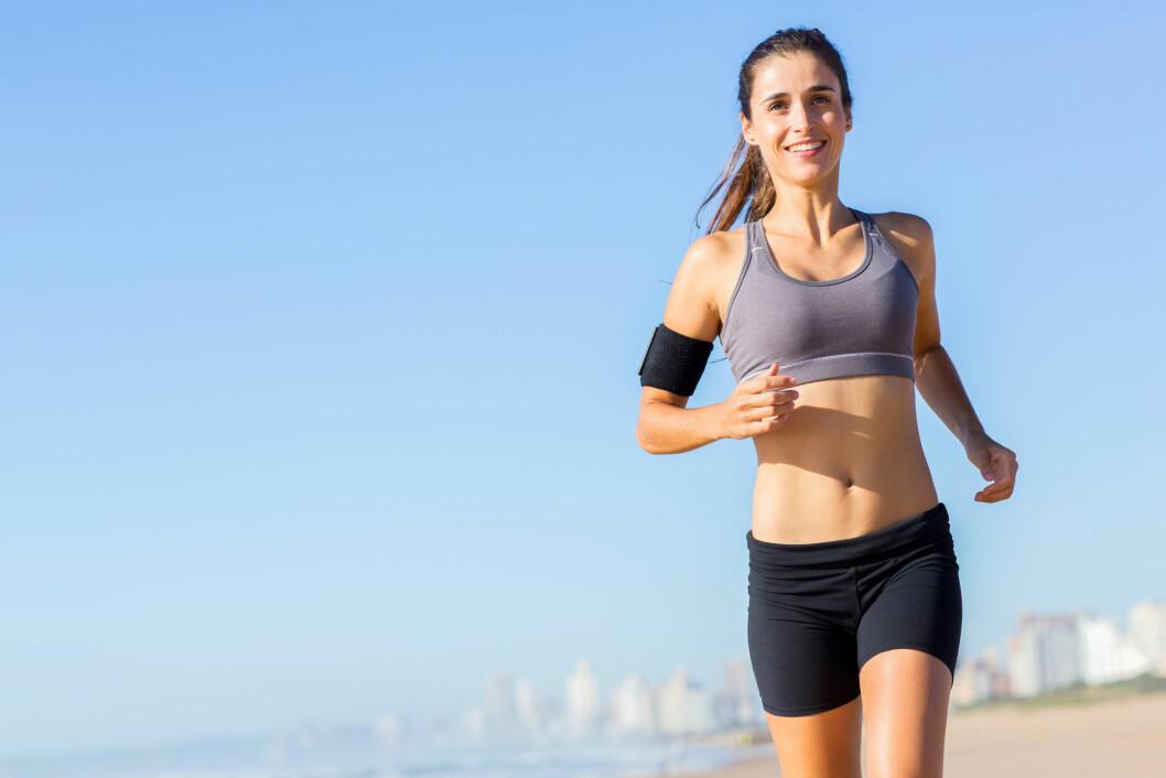 BEDRE HELSE: Folk som løper jevnlig reduserer risikoen for en rekke sykdommer.  Foto: michaeljung - Fotolia