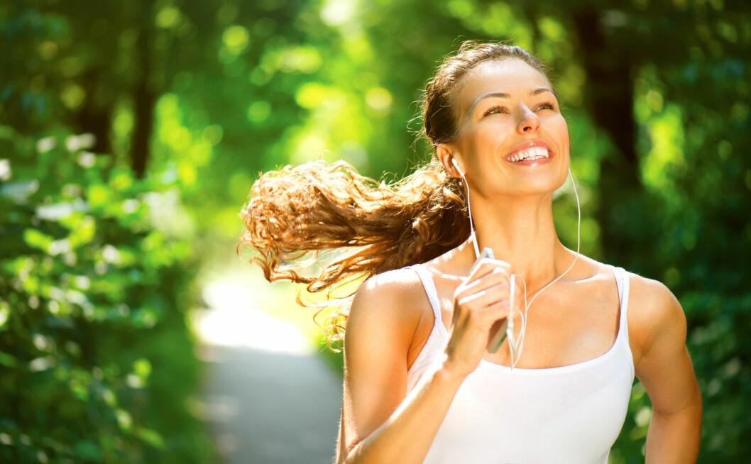 MANGE FORDELER: Om du vurderer å kaste deg på løpebølgen, er det bare å lese gjennom denne listen over fordeler og helsegevinster for å overbevise deg selv.  Foto: Subbotina Anna - Fotolia