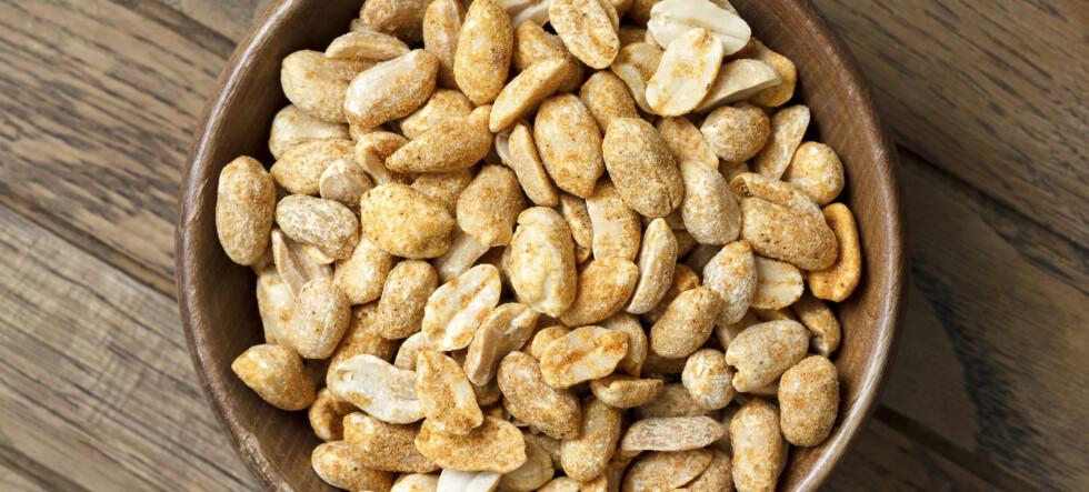 Spis peanøtter - lev lenger