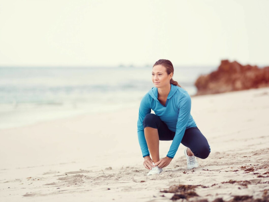 <strong>NYE TRENDER:</strong> Vi skal ikke lenger slite oss igjennom en treningsplan. Vi skal være sunne og spreke, men hvile og måtehold er viktigere enn før.  Foto: Scanpix