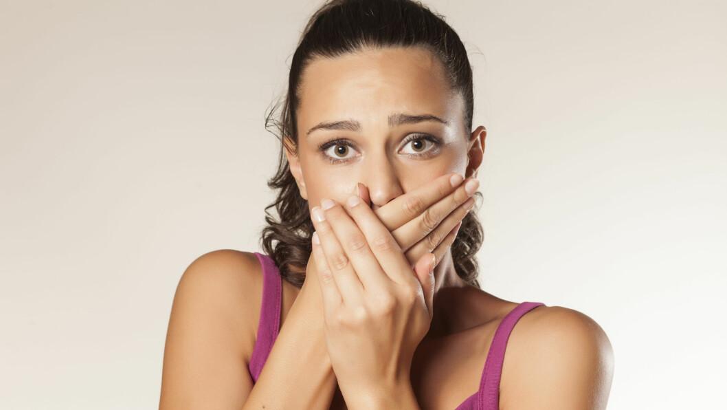 HVITLØKSÅNDE: Hvitløksånde kan være sjenerende. Heldigvis finnes det et par triks som kan fjerne den.  Foto: vladimirfloyd - Fotolia