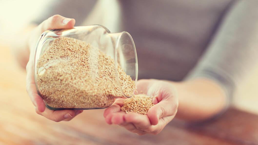 MIDDAGSKORN: Quinoa er en sunn og deilig erstatning for ris.  Foto: Syda Productions - Fotolia