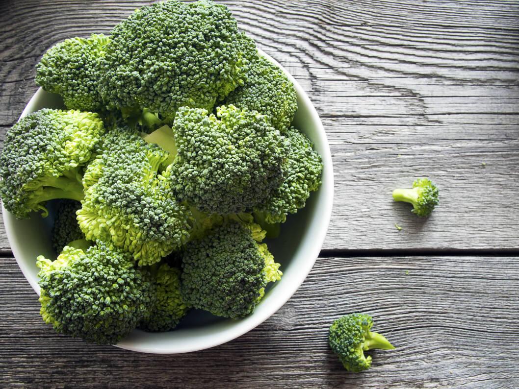 Brokkoli er en av de absolutt mest næringsrike grønnsakene du kan spise.  Foto: canyonos - Fotolia