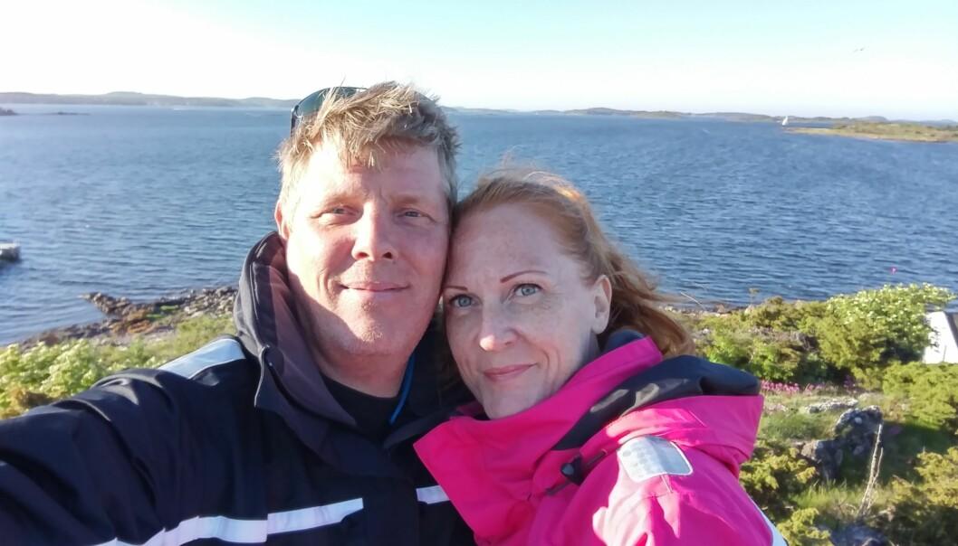 BO FRA HVERANDRE: Carina og Erik bor fra hverandre, men er lykkelig gift. Hva er egentlig greia med boformen LAT (Living Apart Together)? FOTO: Privat