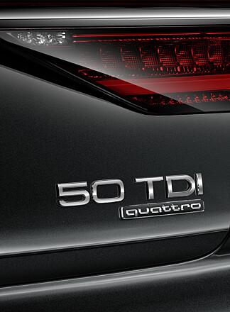 HVOR MANGE HESTER? I dette tilfellet - Audi A8 55 TDI (Forrige generasjon het 3.0 TDI) - yter 285 hestekrefter. Foto: Audi