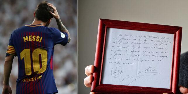 image: Servietten som beseglet Messis skjebne som 13-åring: - Etter to minutter visste jeg