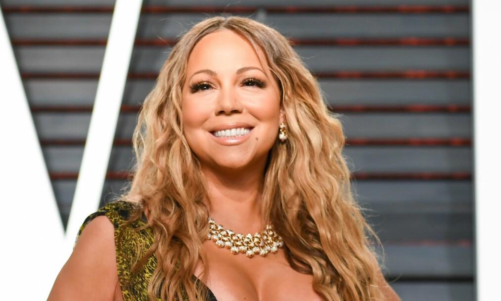 I SITT RETTE ELEMENT: Mariah Carey (47) har rykte på seg for å være en skikkelig diva, og snakker om påstandene i et nytt intervju. NTB scanpix